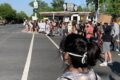 Peaceful protest held in Elmhurst City Centre