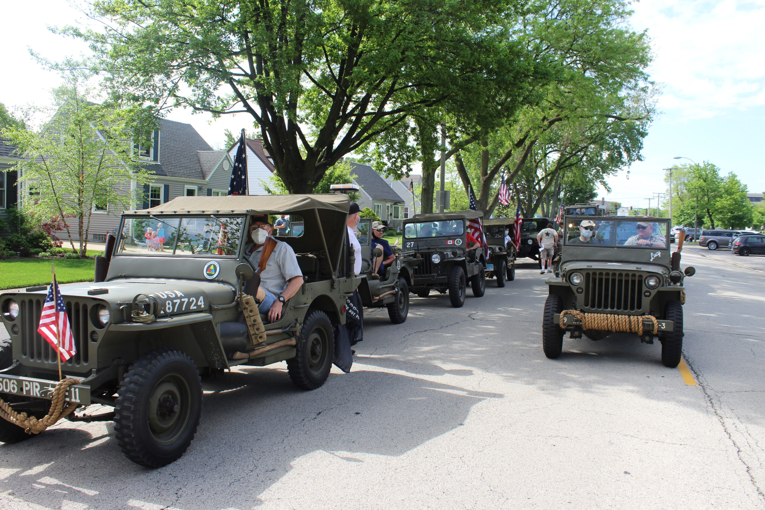 City plans 'Always Remember' Memorial Day Convoy; Parade canceled, but in-person ceremony planned in Wilder