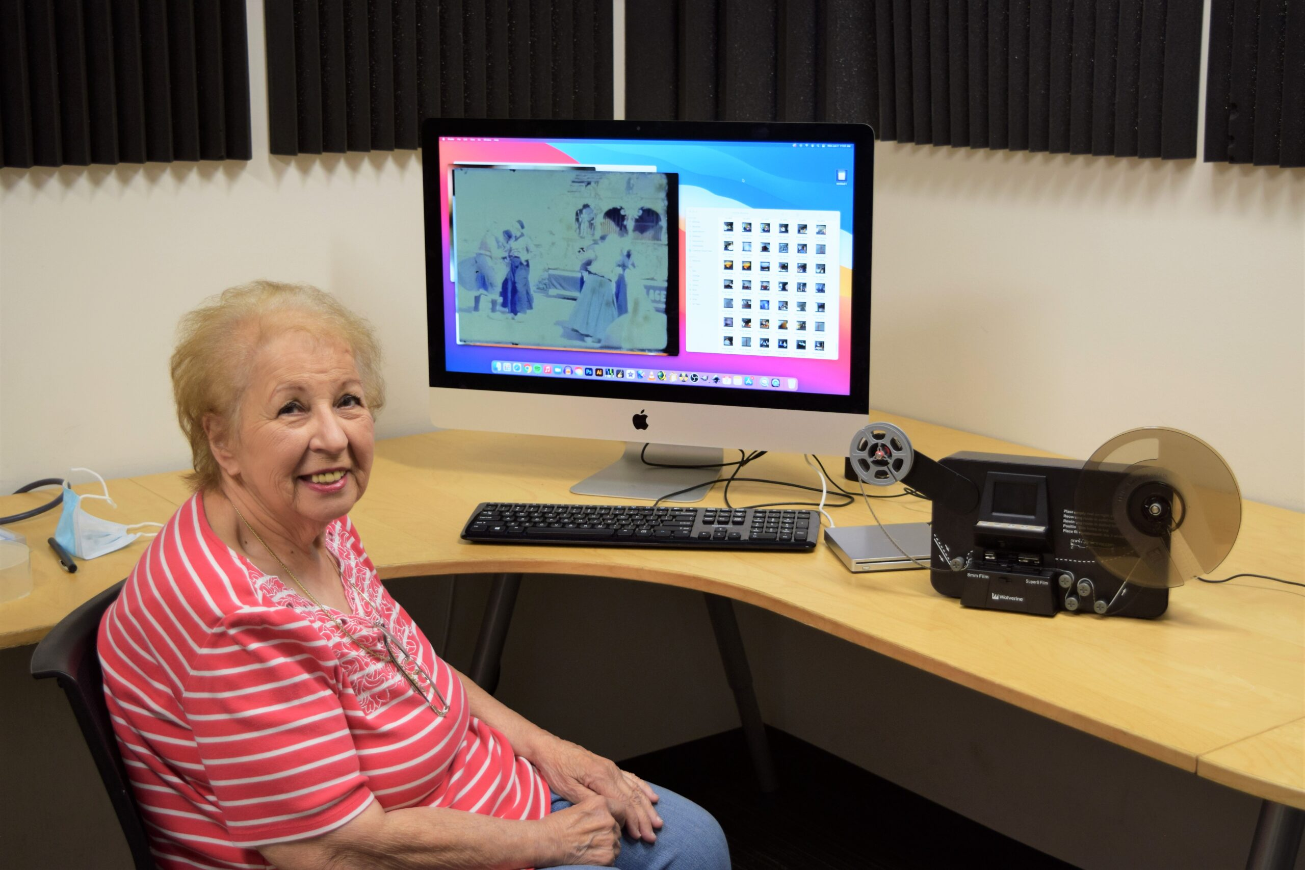 Cherished memories saved for the next generation with help from the library; Rose Falcone learns to edit film to leave memories for her grandchildren